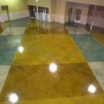 Atlanta GA acid stained flooring