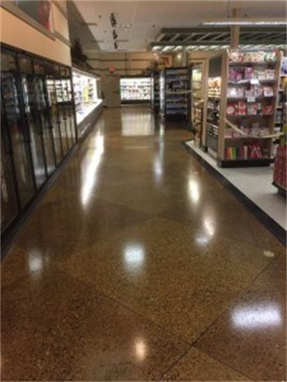 surface protection keeps concrete floors looking good