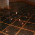 custom concrete basement flooring Cumming