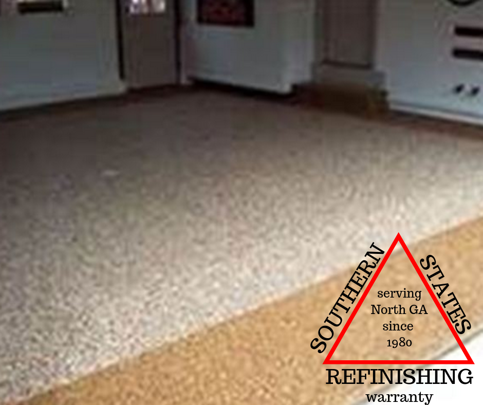 Garage Floor Surface Prep