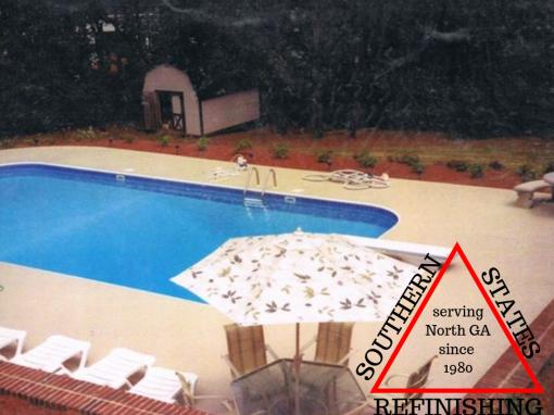 Residential Pool Deck After Repair
