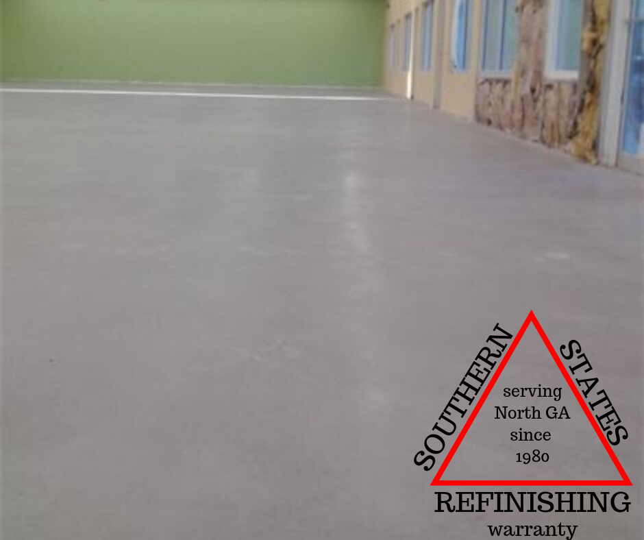 Commercial Floor Rehab (After)