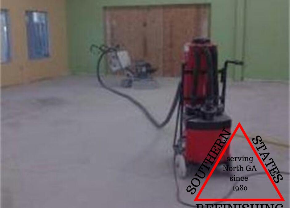 Commercial Floor Rehab (Before)