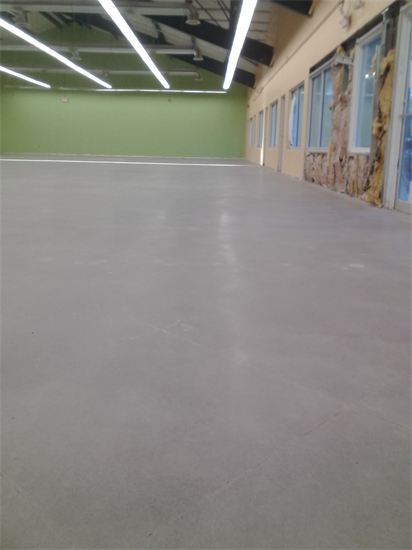Ace Hardware flooring rehab work