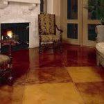 acid floor stain