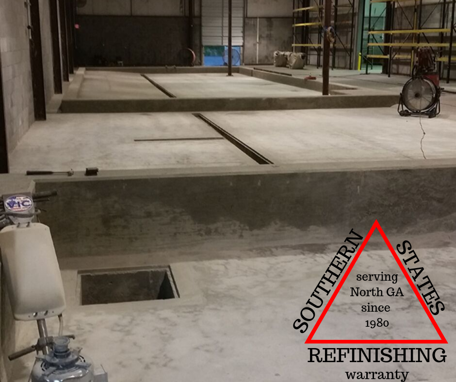 Surface Prep for Warehouse Floor Epoxy