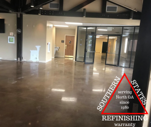 Polished concrete floors cumming ga