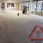 prepping floor and glue removal