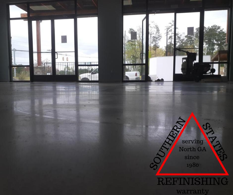 polished concrete dallas