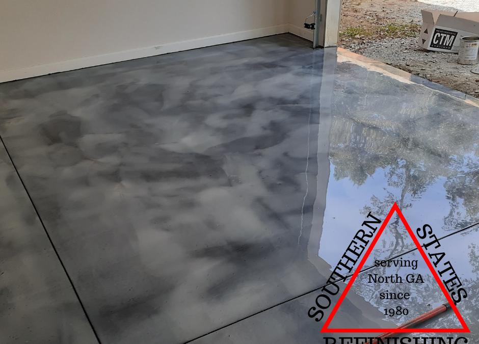 Metallic Garage Floor Coating
